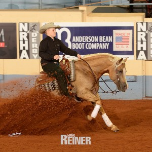 TMF and Tom McCutcheon Reining Horses Congratulates Cade McCutcheon and Custom Made Gun