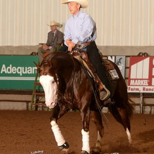 TMF Congratulates Casey Hinton and Chics Loaded Gun on winning USA Open at 2015 NRHA Derby
